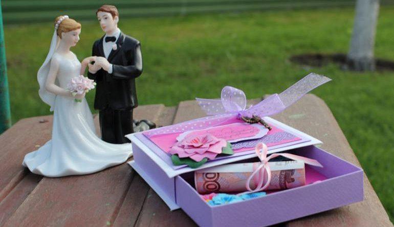 15 идей как оригинально подарить деньги на свадьбу