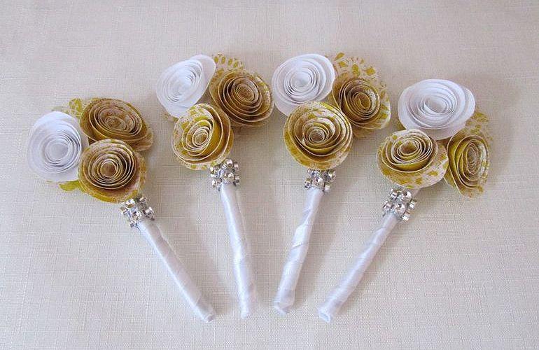 Сувениры на бумажную свадьбу