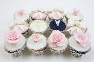Свадебные капкейки