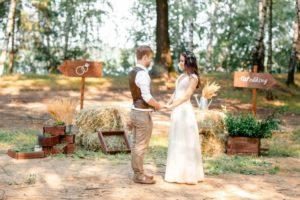 Все тонкости оформления свадьбы в стиле рустик